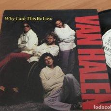 Vinyl-Schallplatten - VAN HALEN (WHY CAN'T THIS BE LOVE) SINGLE ESPAÑA 1986 PROMO (EPI14) - 129960231