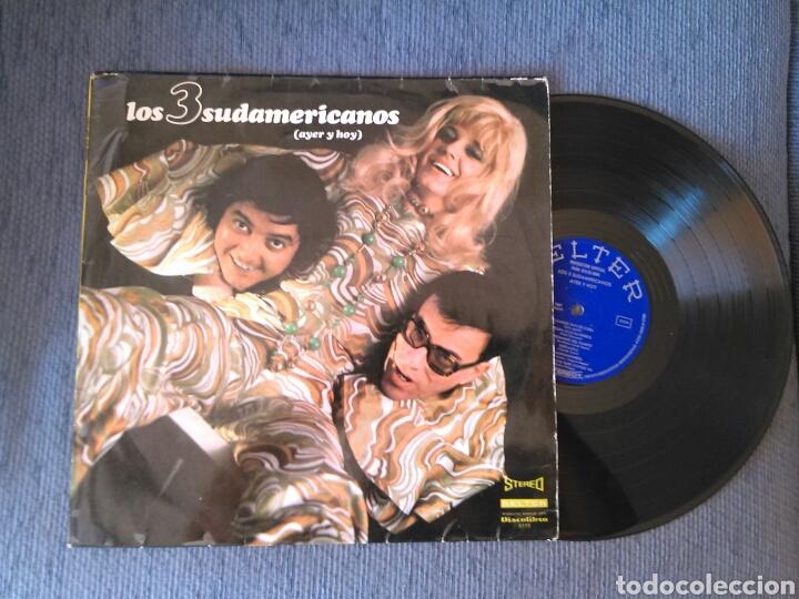 LOS 3 SUDAMERICANOS LP AYER Y HOY 1971 DISCOLIBRO RARO (Música - Discos - LP Vinilo - Grupos Españoles 50 y 60)