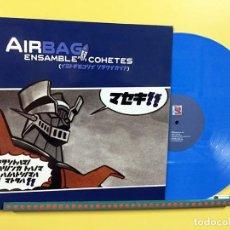 Discos de vinilo: AIRBAG LP ENSAMBLE DE COHETES ORIGINAL 2007 VINILO COLOR AZUL DESCATALOGADO. Lote 129964799