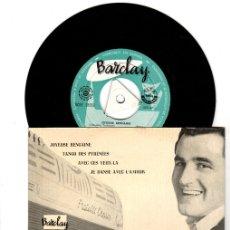 Discos de vinilo: SINGLE ROBERT TRABUCCO. ACCORDEON FESTIVAL. BARCLAY. Lote 129969999