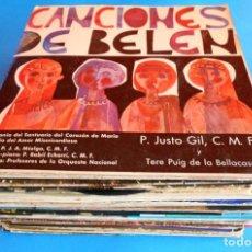 Discos de vinilo: LOTE DE 29 SINGLES Y EP´S DE VILLANCICOS Y NAVIDAD. DIFERENTES ARTISTAS. VER FOTOS.. Lote 129972563