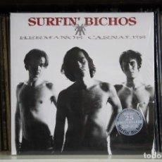 Discos de vinilo: SURFIN BICHOS, HERMANOS CARNALES, DOBLE LP, COMO NUEVO. + 2 CD.. Lote 129975023