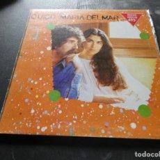 Discos de vinilo: LP QUICO PI DE LA SERRA Y MARIA DEL MAR BONET 1975 MUY BUEN ESTADO. Lote 129978327