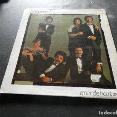 Discos de vinilo: LP MOCEDADES AMOR DE HOMBRE MUY BUEN ESTADO. Lote 129978435