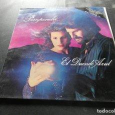 Discos de vinilo: LP PIMPINELA EL DUENDE AZUL 1986 MUY BUEN ESTADO COLABORA MARADONA. Lote 129978875