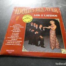 Discos de vinilo: LPIDOLOS DEL AYER LOS CICO LATINOS MUY BUEN ESTADO. Lote 129978911