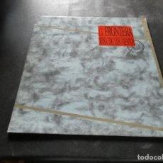 Discos de vinilo: LP LA FRONTERA LA ROSA DE LOS VIENTOS EN BUEN ESTADO. Lote 129979123