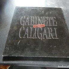 Discos de vinilo: LP GABINETE CALIGARI PRIVADO GATEFOLD BUEN ESTADO. Lote 129979175