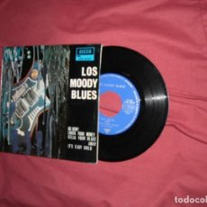 Discos de vinilo: THE MOODY BLUES ( GO NOW ! +3) EP ESPAÑA 1964 VEDR FOTO. Lote 129979255