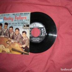 Discos de vinilo: THE ROCKY FELLERS EP KILLER JOE - MY PRAYER + 2 VINILO SPA FON TANA. Lote 129979439