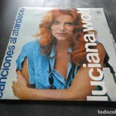 Discos de vinilo: LUCIANA WOLF CANCIONES AL ATARDECER LUCIANA WOLF AÑO 1973. Lote 129979699