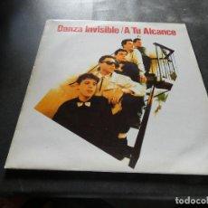 Discos de vinilo: LP DANZA INVISIBLE A TU ALCANCE MUY BUEN ESTADO. Lote 129979879