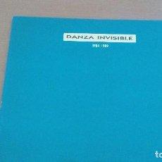 Discos de vinilo: DANZA INVISIBLE 1984 - 1989 LP. Lote 132216587