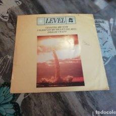 Discos de vinilo: LEVEL 42 – LEAVING ME NOW / I SLEEP ON MY HEART (REMIX) / DREAM CRAZY - POLYDOR - POSPX 776 - 1985. Lote 129989991