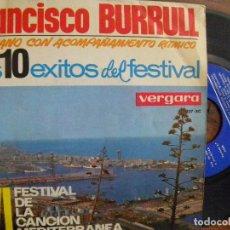 Discos de vinilo: FRANCISCO BURRULL -EP 1964. Lote 129992319