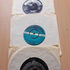 Discos de vinilo: THE WOLFETONES/SEAN DUNPHI/JACKIE RICE & THE CURRACHS- 3 SINGLES DOLPHIN IRLANDA-IRISH FOLK. Lote 129995171