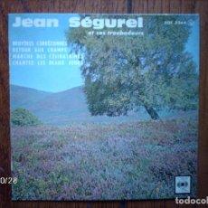 Discos de vinilo: JEAN SEGUREL ET SES TROBADOURS - BRUYERES CORREZIENNES + 3. Lote 129998695