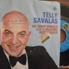 Discos de vinilo: TELLY SAVALAS -SINGLE 1981 . Lote 130006879
