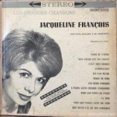 Discos de vinilo: LP ARGENTINO DE JACQUELINE FRANÇOIS AÑO 1964. Lote 130010727