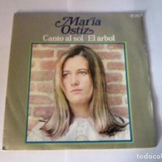 Discos de vinilo: MARIA OSTIZ - CANTO AL SOL + EL ARBOL -SINGLE- HISPAVOX 1968 SPAIN H-376. Lote 130012755