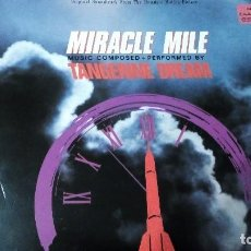 Discos de vinilo: TANGERINE DREAM MIRACLE MILE LP B.S.O 1989. Lote 130013147