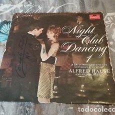 Discos de vinilo: ALFRED HAUSE – NIGHT CLUB DANCING 1 - POLYDOR - 184 050. Lote 130017115