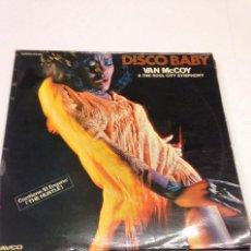 Discos de vinilo: VAN MCCOY & THE SOUL CITY SYMPHONY - DISCO BABY --DISCO FUNK SOUL. Lote 130017495