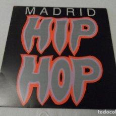 Discos de vinilo: VARIOUS - MADRID HIP HOP. Lote 130024911