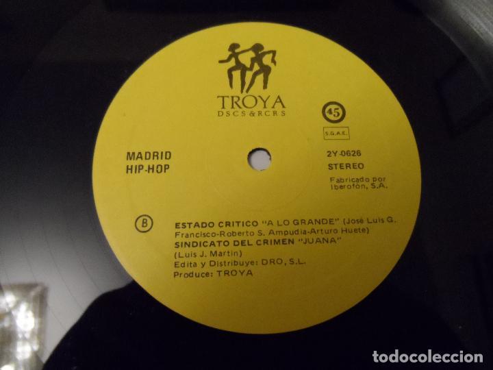 Discos de vinilo: Various - Madrid Hip Hop - Foto 3 - 130024911