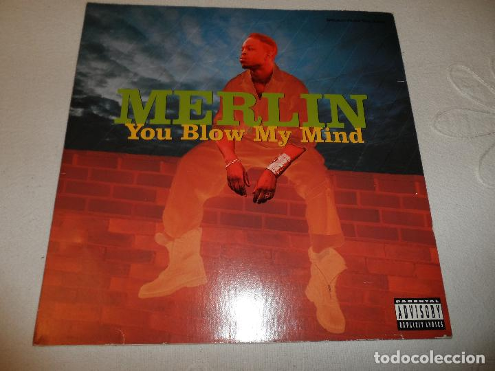 MERLIN - YOU BLOWN MY MIND (Música - Discos de Vinilo - Maxi Singles - Rap / Hip Hop)