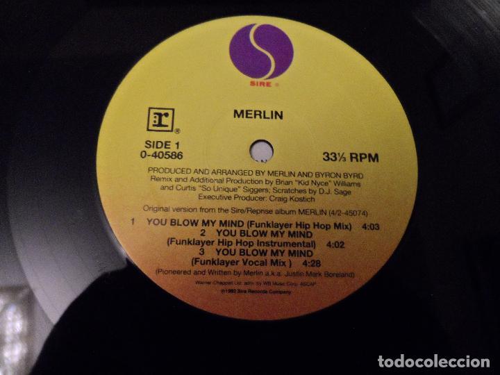 Discos de vinilo: MERLIN - YOU BLOWN MY MIND - Foto 3 - 130025059