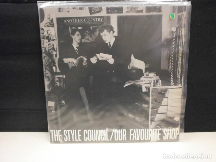 LP. THE STYLE COUNCIL , OUR FAVOURITE SHOP