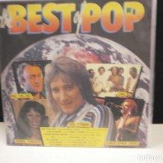 Discos de vinilo: LP. THE BEST OF POP - VARIOS. Lote 130027691