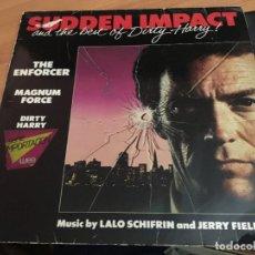 Dischi in vinile: SUDDEN IMPACT (LALO SCHIFRIN & JERRY FIELDING) LP GERMANY 1983 (VIN-A8). Lote 130034751