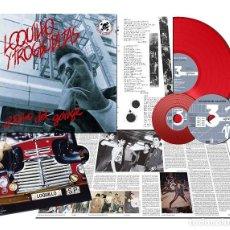 Discos de vinilo: LOQUILLO Y TROGLODITAS - EL RITMO DEL GARAGE (DISCO DE VINILO + CD + DVD). Lote 130037363