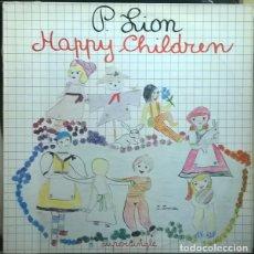 Discos de vinilo: P. LION ?– HAPPY CHILDREN. 12´´ MAXI SINGLE.. Lote 130038503