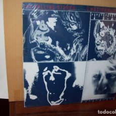 Dischi in vinile: THE ROLLING STONES - EMOTIONAL RESCUE - LP 1980 CON POSTER MUY GRANDE. Lote 130038707