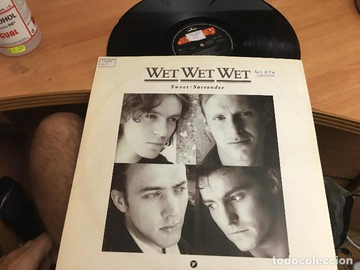 WET WET WET (SWEET SURRENDER) MAXI 1989 (VIN-A8) (Música - Discos de Vinilo - Maxi Singles - Pop - Rock - New Wave Extranjero de los 80)