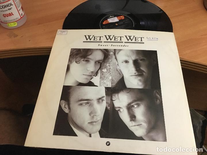 Discos de vinilo: WET WET WET (SWEET SURRENDER) MAXI 1989 (VIN-A8) - Foto 2 - 130046975