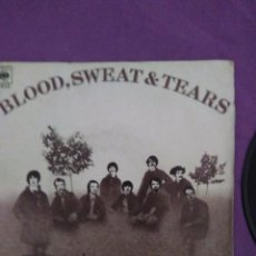 Discos de vinilo: BLOOD, SWEAT & TEARS - YOU'VE MADE ME SO VERY HAPPY SPINNING WHEEL DISCOPHON ESPAÑA. Lote 130050615