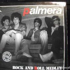 Discos de vinilo: PALMERA ROCK AND ROLL MEDLEY MX SPAIN 1984 PEPETO TOP. Lote 130054443