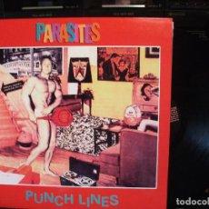 Discos de vinilo: THE PARASITES PUNCH LINES LP USA 1994 PEPETO TOP. Lote 130054495