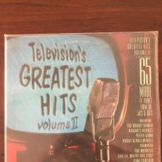 Discos de vinilo: TELEVISION'S GREATEST HITS, VOLUME II LABEL: CBS/SONY ?– 42AP 3246~7 SERIES. Lote 130058847