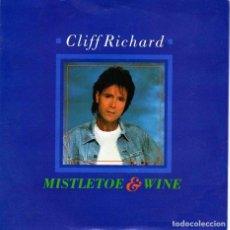 Discos de vinilo: CLIFF RICHARD ?– MISTLETOE & WINE LABEL: EMI ?– 12EM 78 FORMAT: VINYL, 12. Lote 130061703