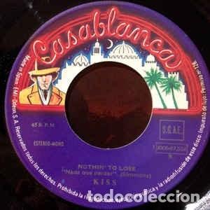 Discos de vinilo: Kiss ?SINGLE Rock And Roll All Nite (Live Version) / Nothin To Lose 1976 Serie Discoteca PROMOCIO - Foto 4 - 130062315