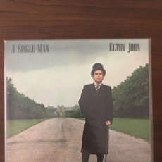 Discos de vinilo: ELTON JOHN ?– A SINGLE MAN LABEL: MCA RECORDS ?– MCA-3065 FORMAT: VINYL, LP. Lote 130062575