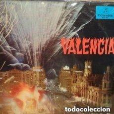 Discos de vinilo: VALENCIA...BANDA UNION MUSICAL DE LIRIA... LP COLUMBIA (SCE 933) 1967. Lote 130066823