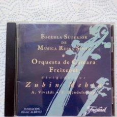 Discos de vinilo: ESCUELA SUPERIOR DE MUSICA REINA SOFIA ORQUESTA DE CAMARA FREIXENET. Lote 130069099