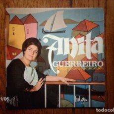 Discos de vinilo: ANITA GUERREIRO - TIA ANICA + CASA DE SANTO ANTONIO + COMO ELA FALAVA + O MEU AMOR . Lote 130073015