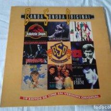 Discos de vinilo: 42-LP DOBLE, 19 EXITOS DE CINE EN VERSION ORIGINAL, 1993. Lote 130074599